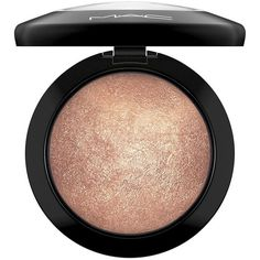 MAC Mineralize Skinfinish - Pressed/0.35 oz. ($33) ❤ liked on Polyvore featuring beauty products, makeup, face makeup, face powder, beauty, apparel & accessories, mineral face powder and mac cosmetics