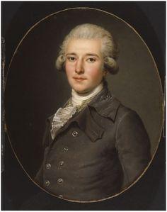 1784 Adolf Ulrich Wertmüller - Edmond Charles Genet