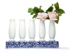 花瓶 DELFT BLUE 5 by Moooi© 设计师Marcel Wanders