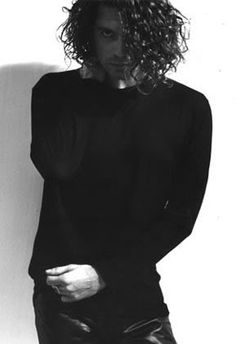 Vocalist Michael Hutchence