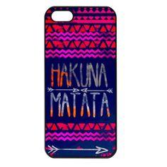 Hakuna Matata Iphone 4 4s case cover