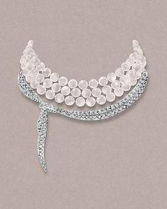 Tiffany Masterpieces collier perles diamants