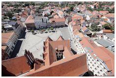 Stendal - Marktplatz - Blick von der Marienkirche