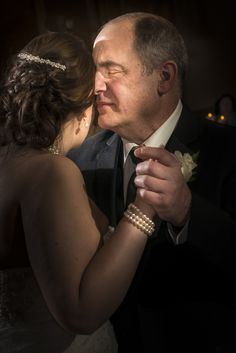 A sweet father/daughter dance. Dom Chiera Photography