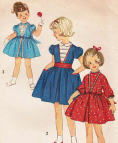 1950s Simplicity 3179 Vintage Sewing Pattern by midvalecottage