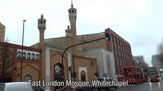 East London Mosque - Muslim spits in Jayda Fransen's face! London Mosque, East London, Cn Tower, Christianity, Muslim, Britain, Building, Face, Travel