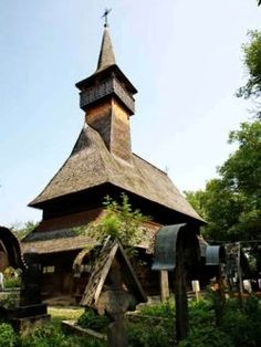 """The noble family Balea built the old Church on the Hill in Ieud at the beginning of the 17th century, being one century older than the wooden church in the lowland, located in the same village. The church dedicated to the """"Nativity of the Virgin"""" represents an a apogee of the art in wooden church construction in Maramures.  Contact us!!! www.tourofromania.com office@turderomania.ro +(4)0739003650 #tourofromania #romania #travel #travelphotography #nature #bucharest #ig_romania #photography Romania Travel, Best Travel Guides, Bucharest, 17th Century, Nativity, Gazebo, Travel Photography, Old Things, Construction"""