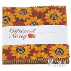 Harvest Song Charm Pack - Cheryl Haynes - Benartex This would make a beautiful table runner and place mats for the fall season.
