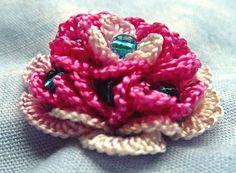 RosalieWakefield-Millefiori: Rosey Posey - Stitch My New Brazilian Dimensional Embroidery Flower