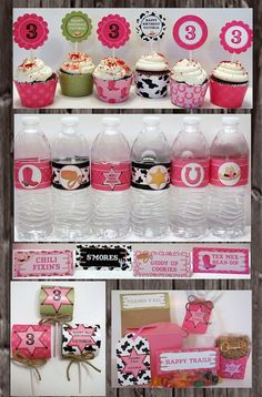 Printable's for cowgirl party