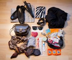 Minimal packing tips for traveling light. Photo by alphacityguides.