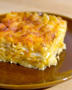 "John Legend's Macaroni and Cheese - ""I have made it dozens of times and I get so many requests for it. I like to assemble it the night before. That gives the liquid time to absorb into the noodles and I think it makes it taste even better"""