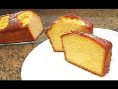 Lemon and oatmeal cake Basic Sponge Cake Recipe, Sponge Cake Recipes, Oatmeal Cake, Pan Dulce, Americas Test Kitchen, Almond Cakes, Healthy Sweets, International Recipes, Food Dishes