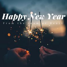 Happy New Year from heart! We wish you the best and look forward to working with you again – heart – Dominique, Naomi, Anna and The Minions