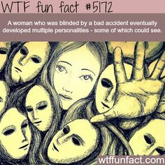 - Fact- : Blind woman who could see depending on personality - WTF fun... www.letstfact.com