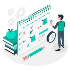 Design Plano, Light Blue Flowers, Steps To Success, Flat Design Illustration, Animated Icons, Graphic Wallpaper, Flower Doodles, Web Banner, Motion Design