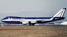 The Ten Coolest Commercial Jet Paint Jobs: Alitalia 'Baci Perugina'