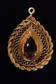 1940's Gold Charm locket.