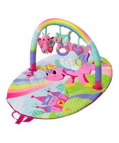 Love this Unicorn Explore & Store Activity Gym by Infantino on #zulily! #zulilyfinds