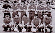 EQUIPOS DE FÚTBOL: SELECCIÓN DE ESPAÑA en el Mundial de México 1986