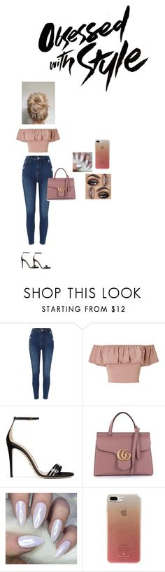 """""""Tt"""" by tatianaalcaraz on Polyvore featuring Miss Selfridge, Gucci and Kate Spade"""