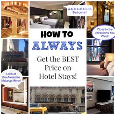 How to Always Get the Best Prices on Hotel Deals! #Freebies2Deals