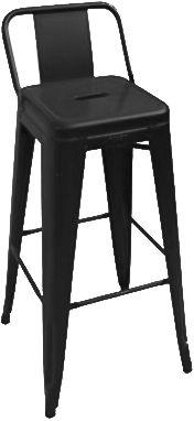 工業風高吧台鐵椅 網路售價: $1400 /日租: $280