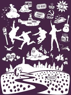 Beatles Songs by Tom Trager, via Flickr