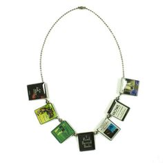 C. Forsman Banned Book Necklace now featured on Fab.  I want this soooo bad!