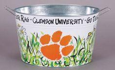 Clemson University Tailgate Bucket