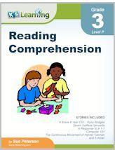 Free printable third grade reading comprehension worksheets   K5 Learning