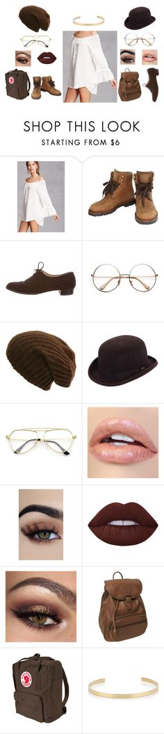 """one dress, two outfits"" by melanieshepperson on Polyvore featuring Forever 21, Chanel, Manolo Blahnik, Scala, Lime Crime, AmeriLeather, Fjällräven, Jennifer Fisher and modern"