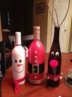 Xmas bottles