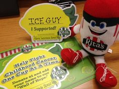 Rita's is fighting childhood cancer, one cup at a time.