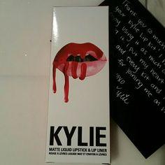 Kylie Lip Kit Mary Jo K Kylie's lipkit Mary Jo K. Gorgeous color. American Eagle Outfitters Makeup Lipstick
