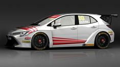 Nieuwe Toyota Corolla is er nu ook als brute toerwagen New Toyota Corolla is now also available as a brutal touring car Team Toyota, Toyota Cars, Toyota Supra, Toyota Corolla Hatchback, Hatchback Cars, Cars Uk, Race Cars, New Corolla, Motorsport Magazine