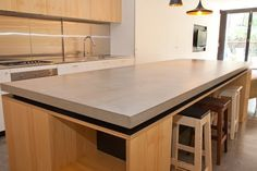 Pop Concrete Polished Concrete Benchtops Vanities