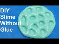 DIY How To Make Slime Without Glue ,Borax,Liquid Starch or Detergent! Oobleck Slime - YouTube