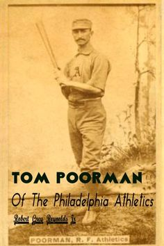 Buy Tom Poorman Of The Philadelphia Athletics by Robert Grey Reynolds Jr and Read this Book on Kobo's Free Apps. Discover Kobo's Vast Collection of Ebooks and Audiobooks Today - Over 4 Million Titles! Baseball Players, Baseball Cards, Philadelphia Athletics, Major League, Jr, Audiobooks, Athlete, Toms, Ebooks