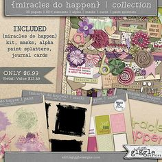 {Miracles Do Happen} Collection   |  A Little Giggle Designs