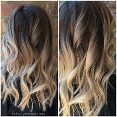 #Balayage #blonde by @massey07