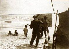 Sorolla Painting on teh beach