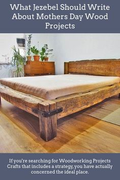 Reclaimed Wonders is your source for year old reclaimed barn beams, lumber, Reclaimed Mantels, Rustic furniture and more. Our Reclaimed Hand Hewn Barn Beams are one of a kind historic pieces of lumber made from lumber dating back to the early Log Furniture, Bedroom Furniture, Furniture Design, Bedroom Decor, Furniture Making, Diy Bed Frame, Wood Bed Frames, Diy Queen Bed Frame, Easy Wood Projects