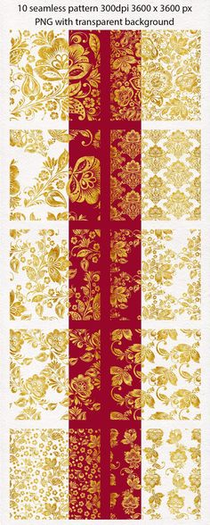 floral, gold, seamless, pattern, set, flower, vintage, russian, ornament, khokhloma, hohloma, golden, texture, digital, paper, png, transparent, background, black and gold, red and gold, stylized, flowers, seamless pattern,  gold flower, gold khokhloma, хохлома, хохломская роспись, print, textile, surface, design #floral #gold #seamlesspattern #flower #vintage #russianornament, #khokhloma #hohloma #surfacedesign #textiledesign #patterndesign #floralprint #floralpattern