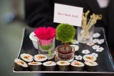 Creative Wedding Food, Wedding Reception Photos by Turnquist Photography