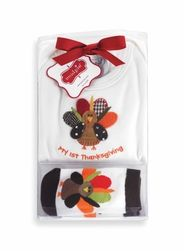 Mud Pie Clothing- Mud Pie Turkey Boxed Set- Fall Collection