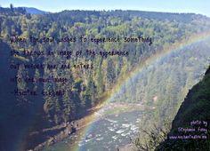 Snoqualmie Falls - my new Rainbow Falls!