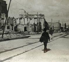 Buildings Ruined, Kingston, Jamaica