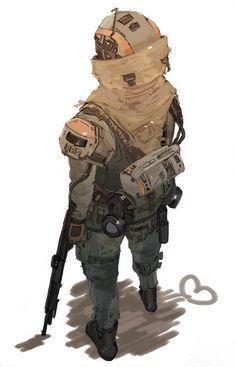 Evocative Titanfall Fan Art Evokes The Pilots' Lonely Lot - The Day The Web Stood Stupid