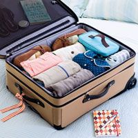 5 Great Packing Tips #travel #organized